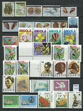 Angola 1975/1994 - 33 stamps mint and used