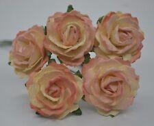 25 MEDIUM COOPER ENGLISH ROSE Mulberry Paper weddings crafts cardmakings