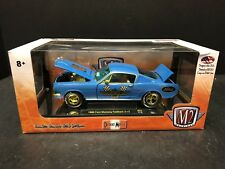M2 Machines 1/24 1966 Ford Mustang Fastback Chase 500 Pieces EM1473