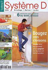 Système D n° 733 Bougez vos cloisons - meuble à tiroirs design