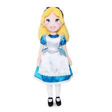 "NEW Disney Store  ALICE in Wonderland  18"" Plush Doll NWT"