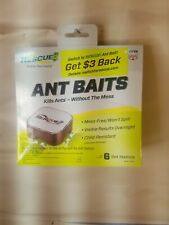 Rescue Ant Killer 6 Baits Pest Control Kid Safe Overnight Results!
