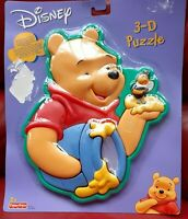 Fisher Price Disney Winnie the Pooh 3D Puzzle 2003 new and sealed Rare
