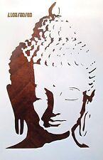 Buddha Stencil Reusable 10 mil Mylar stencil