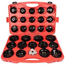 Ölfilterschlüssel Werkzeug Koffer Kappen Kappenschlüssel Ölfilterglocke 31 TLG