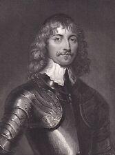 Portrait XIXe James Graham 1st Marquess of Montrose Scotland 1840