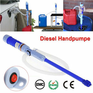 Electric Water Pump Liquid Transfer Gas Oil Siphon Battery Operated Pumps NEW