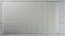 50 Pegatinas de teclado en blanco transparente Computadora Laptop laminado mate antirreflejo