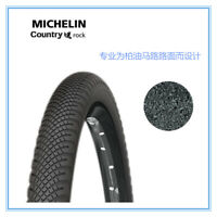"New Michelin Country Rock Tire 27.5x1.75"" Wire MTB X-Country Mountain Bike Tyre"