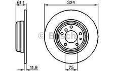 BOSCH Juego de 2 discos freno 324mm BMW Serie 7 8 0 986 478 095