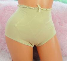 VTG OLGA Beige Slimming Shapewear Girdle Classic High Cut Briefs Panties sz M
