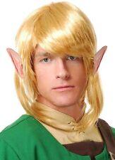 Elf Warrior Wig Legend of Zelda Link Fantasy Halloween Costume Fancy Dress 60422
