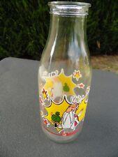 ancienne bouteille de lait  ASTERIX / le druide PANORAMIX 1990
