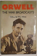 WW2 British Orwell The War Broadcasts BBC Archives 1941-1943 Reference Book