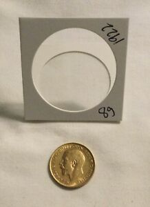 1922 GOLD BRITISH SOVEREIGN GOLD COIN 8 grams