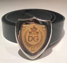 """Dolce & Gabbana D&G Leather Belt 42"""" 105cm 100% Authentic"""