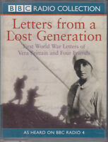 Letters From A Lost Generation First World War 2 Cassette Audio BBC Radio 4