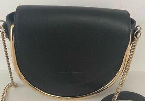 See by Chloe Mara Leather Black Crossbody Bag $395.00 #708W