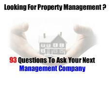 """Dave David Lindahl """"93 Questions To Ask Your Next Management Company"""" E Book"""