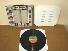 FOREIGNER : RECORDS - GERMANY LP - ATLANTIC 78 0999 1 - 1982