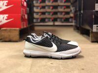Nike Golf Explorer 2 Mens Golf Shoes Black/White/Silver 849957-005 New Multi Sz