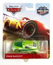 Disney Pixar Cars 3 CHASE RACELOTT Fireball Beach Racers 1:55 Metal Diecast New