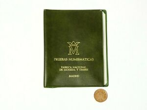 1975 Uncirculated Proof 3 Coin Set from Madrid in Booklet Spanish