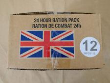 Menue #12 GB ARMY 24 Hour Combat Ration MRE EPA SURVIVAL Notration Verpflegung