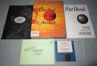 Fast Break - Commodore Amiga Accolade Basketball Computer Video Game - COMPLETE!