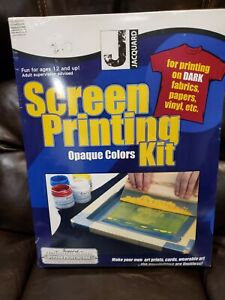 JACQUARD/R G S JSI9001 SCREEN PRINTING INK OPAQUE KIT NEW SEALED