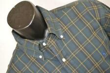 11108 Mens Polo Ralph Lauren Classic Long Sleeve Plaid Dress Shirt Size XL