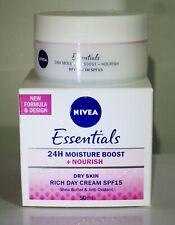 NIVEA Nourishing Day Rich Cream SPF 15 for dry skin Shea butter anti-oxidant