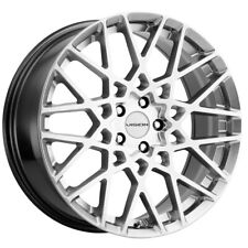 New Listing4 Vision 474 Recoil 17x8 5x108 38mm Silver Wheels Rims 17 Inch Fits More Than One Vehicle