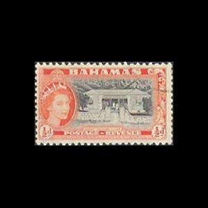 Bahamas, Sc #158, Used, 1954, Infant Welfare Clinic, A350FX-C