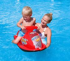 Moto d'acqua gonfiabile bambini mare spiaggia piscina 89x46 cm scooter canotto
