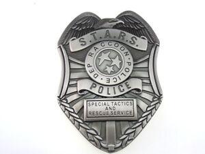 RESIDENT EVIL STARS RACCOON DEP POLICE BADGE MONEY CLIP Grey