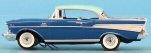 Revell 1:25 '57 Chevrolet Bel Air Hard Top Blue Promo Model Built Model #0907
