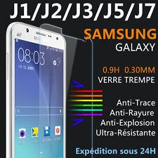 Vitre protection VERRE Trempé film écran Samsung galaxy J1/2/J3/J5/J7, 2016/2017