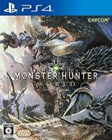 Monster Hunter: World - PS4 Japan