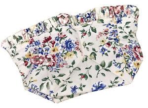 Longaberger Spring Floral Liner for Small Recipe Basket