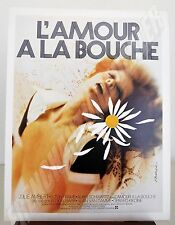 film L'AMOUR à la BOUCHE 1974 doc pub presse Gérard KIKOINE J. AMBERT E. FRAME