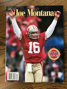 Joe Montana, Beckett Sports Heroes Magazine, 1995