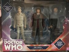 Doctor Who Figures Set 1970 S. 4th docteur, Le brigadier et AUTON