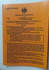 1 mofa ABE Betriebserlaubnis solex VELOSOLEX 5000 Papiere  ohne KOPIE Stempel