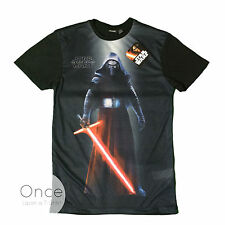 PRIMARK Official Mens STAR WARS KYLO REN Lightsaber T Shirt