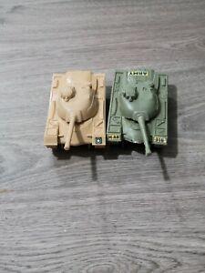 Lot of 2 Army Men Tanks