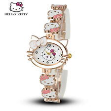 Fashio Hello Kitty Bracelet Watch Girls Women Fashion quartz wrist analog watch
