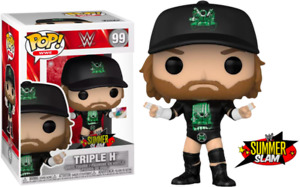 WWE - Triple H Degeneration X US Exclusive Pop! Vinyl with Pin [RS]-FUN54283-...