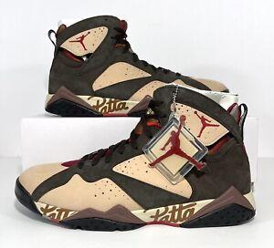 Nike Air Jordan 7 VII Retro OG SP Patta Shimmer AT3375-200 Men's Size 15