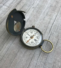 Antique Swiss Made Military Engineer Compass
